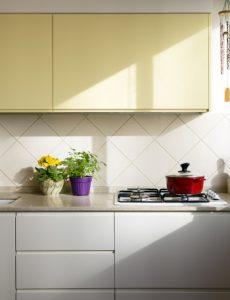 קרמיקה במטבח פרויקט הדירה