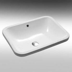 כיור אמבטיה לבן מיוחד חרסה