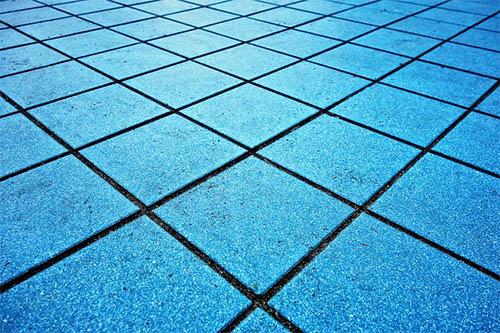 גרניט פורצלן רצפה כחולה